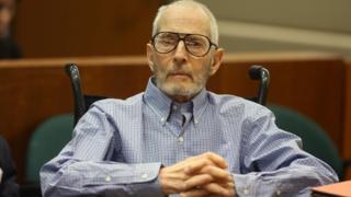 Robert Durst in Los Angeles court