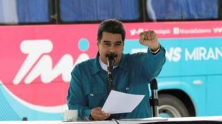 Perezida Maduro yasabye ko ivangura rishingiye ku ibara ry'uruhu rirangira i Burayi