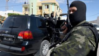Forces spéciales tunisiennes - archives