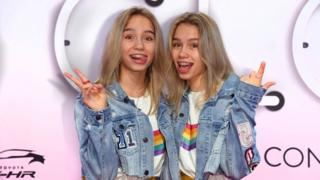 Lisa and Lena (pictured) have over 30 million followers on TikTok.