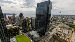 Las oficinas centrales de Amazon en Seattle. (Foto: Amazon)