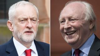 Jeremy Corbyn and Lord Kinnock