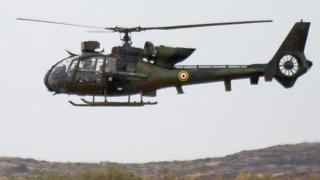 French army Gazelle helicopter in Mali, 2013 pic