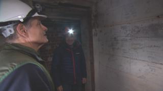 Inside the tunnels with Simon Davies and Paul Rose