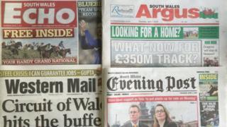 Trinity Mirror newspaper titles