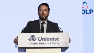 Sinn Féin party activists mocked Colum Eastwood's decision on social media