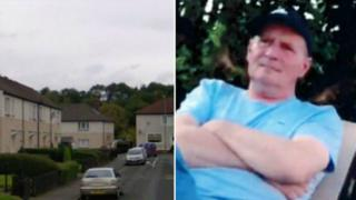 Kevin McGuire died outside his home in Morar Street