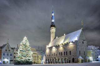 Новый год в Таллинне