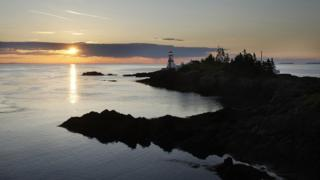 The easternmost end of Campobello Island at dawn