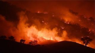Cháy rừng đang tiếp diễn ở các tiểu bang New South Wales, Victoria và Nam Úc