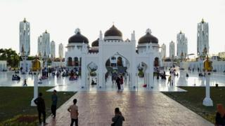 Suasana di Banda Aceh