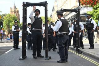 Police at Carnival