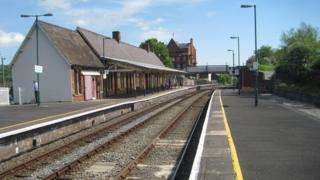 Newtown railway station