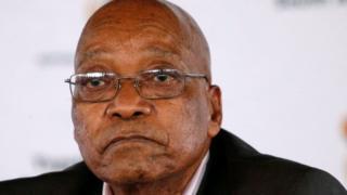 Madaxweyne Jacob Zuma waxa hore loogu eedeeyey musuqmaasuq