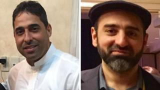 Ahmed al-Musheikhis and Essam Koshak