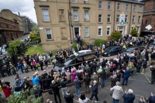 Crowds in Garnethill