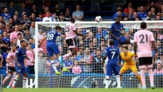 Wilfried scores for Leicester