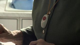 Lifeline button