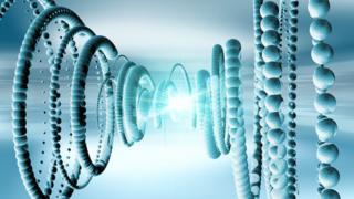 conceptual artwork illustrating neutrinos