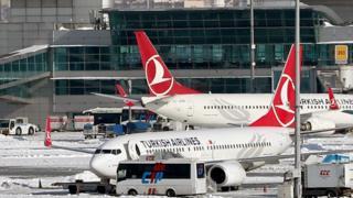 Türk Hava Yolları uçakları