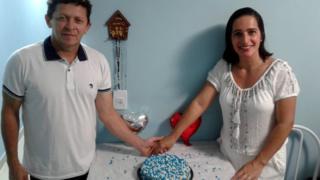 José Carlos Dantas de Souza e sua esposa Cremilda