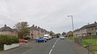 Dalry Road in Saltcoats