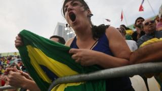 Aficionada brasileña