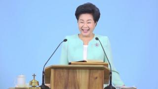 Shin Ok-ju, founder of Grace Church Road