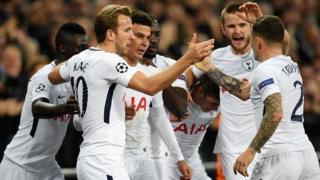 'Yan wasan Tottenham