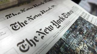 New York Times newspapers