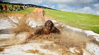 Prime Four Beast Race near Loch Ness