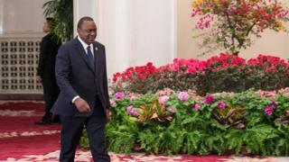 Madaxweynaha dalka Kenya Uhuru Kenyatta