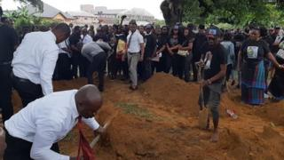 Burial of Dr. Ferry Ngberegbe wey be lecturer for Ken Saro Wiwa Polytechnic Bori