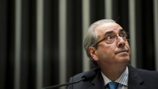 Eduardo Cunha em sessão da Câmara