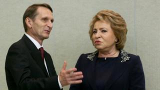 Нарышкин и Матвиенко