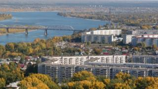 View of Novosibirsk (from official city website)