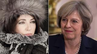 Kate Bush and Theresa May