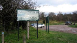 Totternhoe Knolls car park
