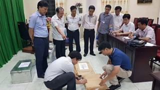 Tổ công tác kiểm tra tại Hà Giang.