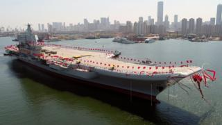 Новый китайский авианосец