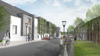 design drawing of derry retirment village