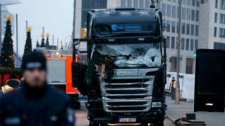 Camión del ataque navideño de Berlín