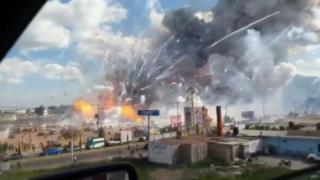 Meksika'da patlama