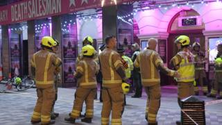 London Piccadilly Theatre ceiling collapses on audience