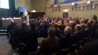 Business summit in Sheffield