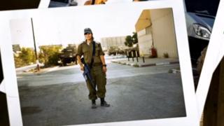 Военнослужащая армии Израиля