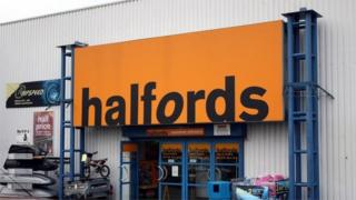 Halfords store