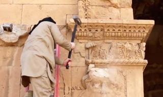Разрушение памятников боевиками ИГ
