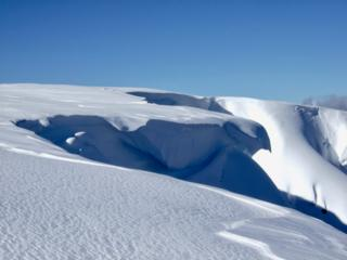 Cornices at Lochnagar on 27 February