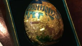 The 13th Cadbury's Conundrum egg was sold in Lincolnshire for £17,200